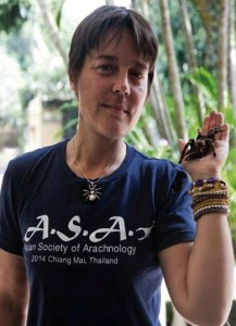 Emma Shaw Thailand Council Member Asian Society of Arachnology