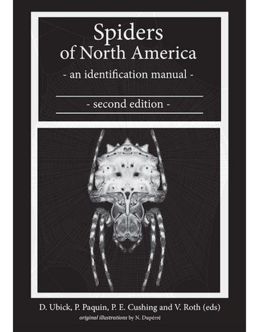 Spider Field Guides & Indentification Books